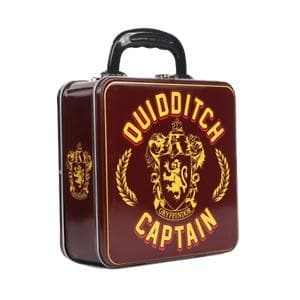 Gryffindor Quidditch Captain Tin Tote Lunch Box - Olleke | Disney and Harry Potter Merchandise shop