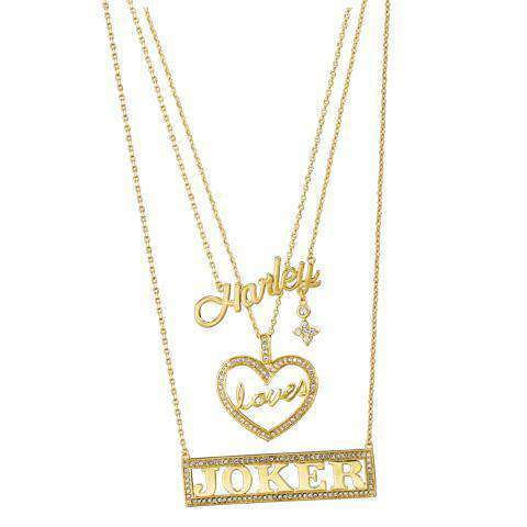 Harley Loves Joker Necklace Set - Olleke | Disney and Harry Potter Merchandise shop