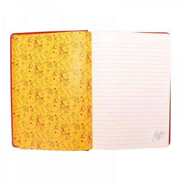 Harry Potter A5 Notebook - Gryffindor Crest - Olleke | Disney and Harry Potter Merchandise shop