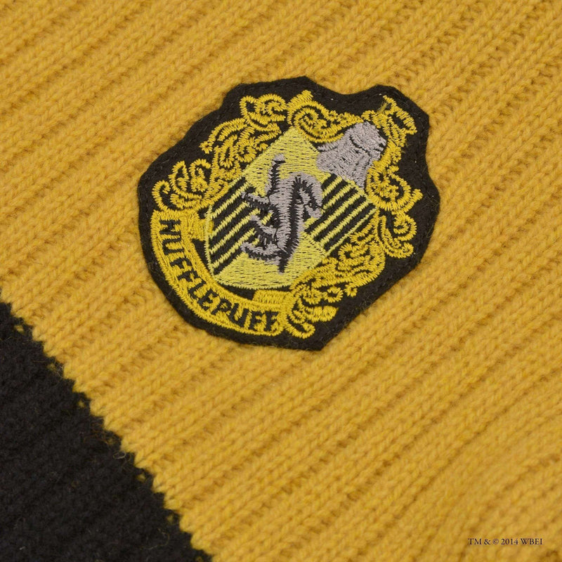 Hufflepuff Quidditch Knitted Adult Jumper - Olleke | Disney and Harry Potter Merchandise shop