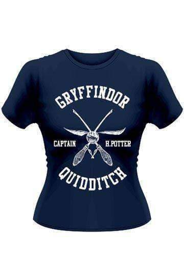Harry Potter Ladies T-Shirt Quidditch Captain Potter (large) - Olleke | Disney and Harry Potter Merchandise shop