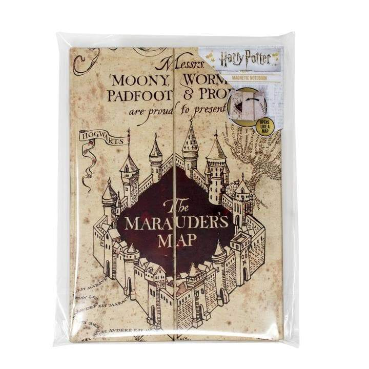 Harry Potter Magnetic Notebook A5 The Marauder's Map - Olleke | Disney and Harry Potter Merchandise shop