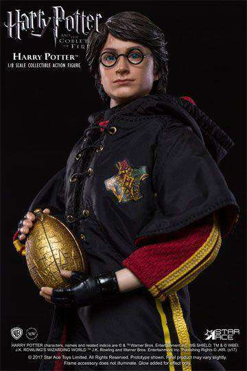 Films & Series - Harry Potter MFM Action Figure 1/8 Harry Potter Triwizard Tournament Quidditch Ver. 23 Cm