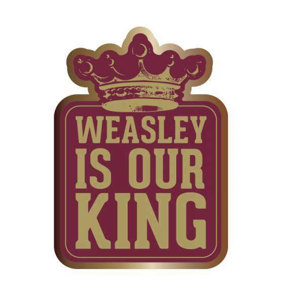Weasley is our King Harry Potter Pin Badge - Olleke | Disney and Harry Potter Merchandise shop