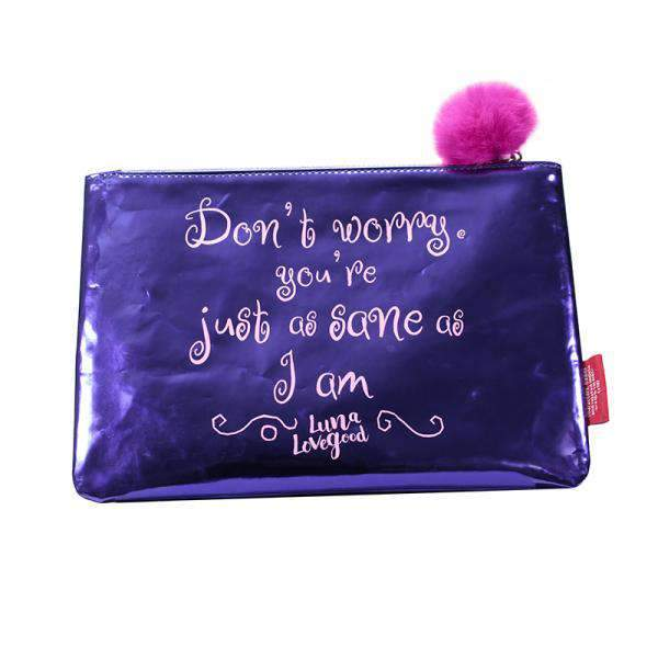 Harry Potter Pouch - Luna Lovegood (As Sane As I Am) - Olleke | Disney and Harry Potter Merchandise shop