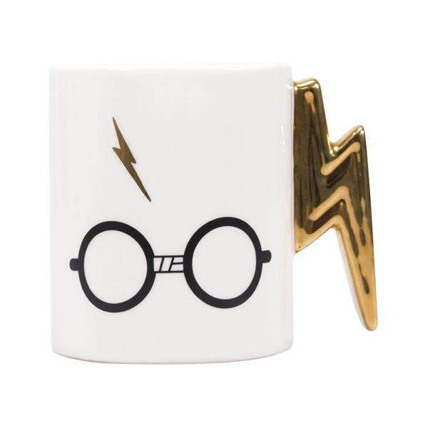 Harry Potter Shaped Mug - Harry Potter (Glasses & Scar) - Olleke | Disney and Harry Potter Merchandise shop
