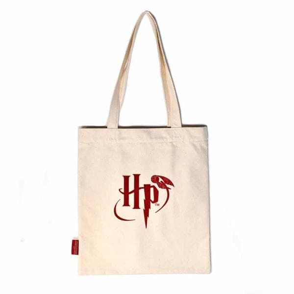 Harry Potter Shopping Bag Hogwarts Slogan - Olleke | Disney and Harry Potter Merchandise shop