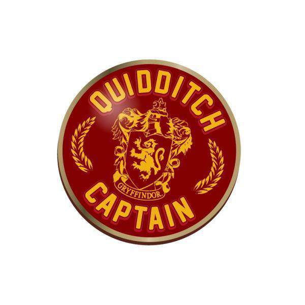 Quidditch Captain Harry Potter Pin Badge - Olleke | Disney and Harry Potter Merchandise shop