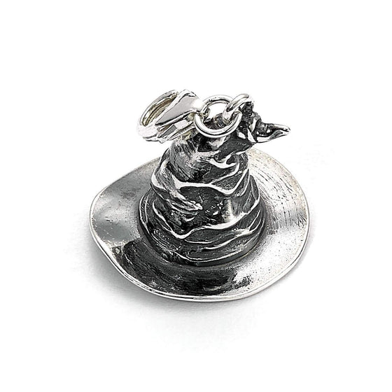 Sterling Silver Sorting Hat Clip on Charm