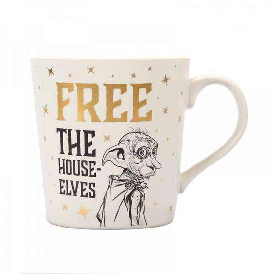 Harry Potter Tapered Mug - Dobby (Free The House-Elves) Olleke | Disney and Harry Potter Merchandise shop Harry Potter