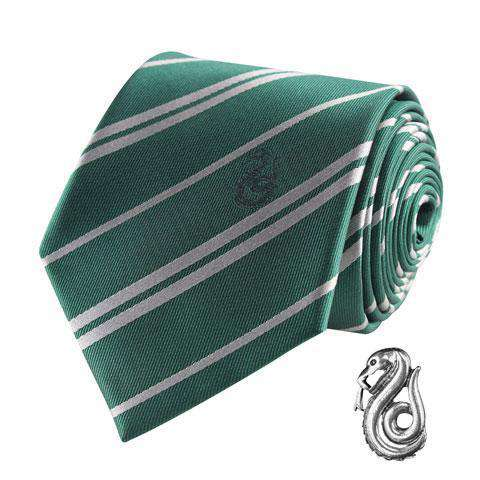 Films & Series - Harry Potter Tie & Metal Pin Deluxe Box Slytherin