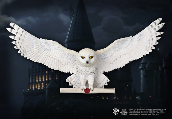 Hedwig Owl Post Wall Decor Olleke | Disney and Harry Potter Merchandise shop The Noble Collection