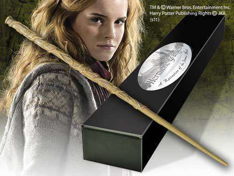 Hermione Granger Character Wand Olleke | Disney and Harry Potter Merchandise shop The Noble Collection