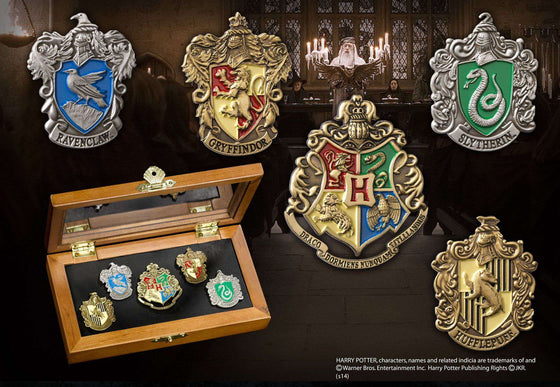 Films & Series - Hogwarts House Pins