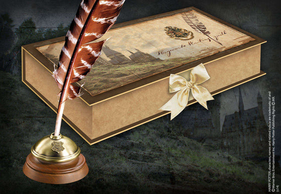 Hogwarts Writing Quill Olleke | Disney and Harry Potter Merchandise shop The Noble Collection