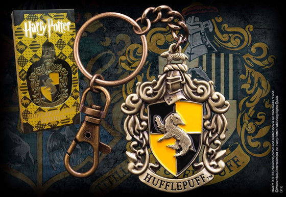 Hufflepuff Crest Keychain Olleke | Disney and Harry Potter Merchandise shop The Noble Collection