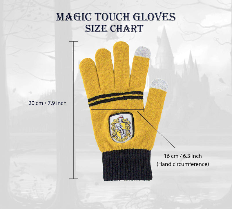"Hufflepuff ""Magic Touch"" Gloves - Olleke 