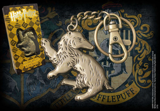 Films & Series - Hufflepuff Shaped Keychain