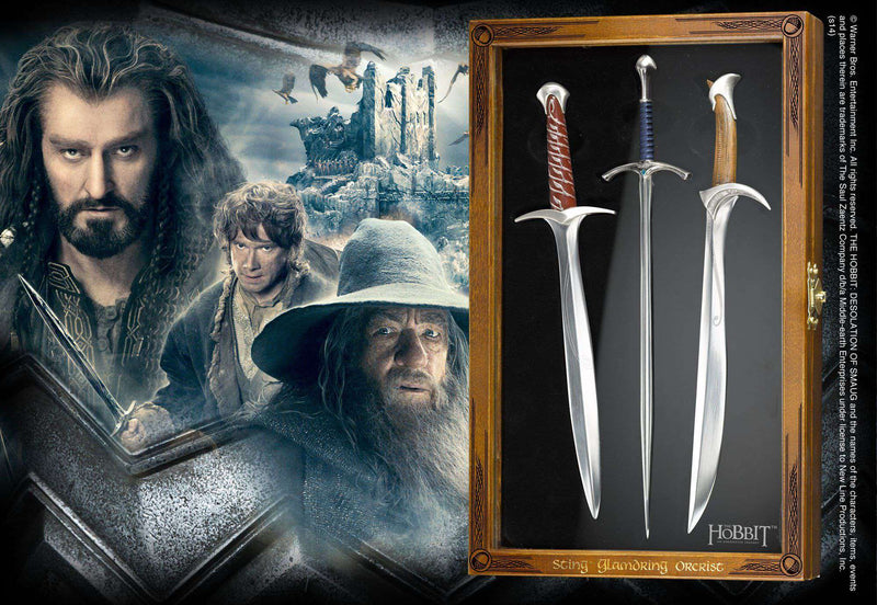 Letter Opener Set (Sting, Glamdring, Orcrist) - Olleke | Disney and Harry Potter Merchandise shop