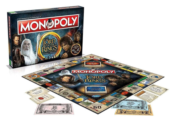 Films & Series - Lord Of The Rings Board Game Monopoly