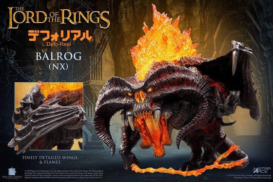 Lord of the Rings Defo-Real Series Soft Vinyl Figure Balrog Olleke | Disney and Harry Potter Merchandise shop Star Ace