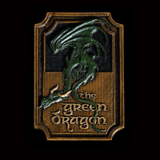 Films & Series - Lord Of The Rings Magnet The Green Dragon
