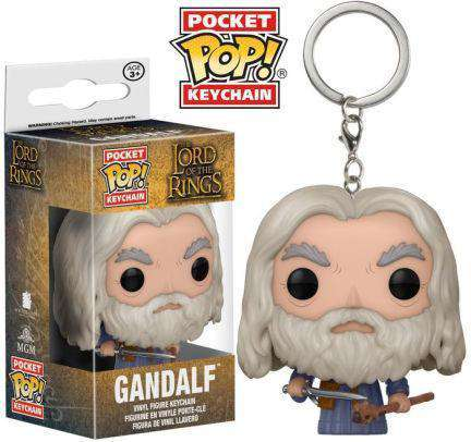 Lord of the Rings Pocket POP! Vinyl Keychain Gandalf Olleke | Disney and Harry Potter Merchandise shop Funko