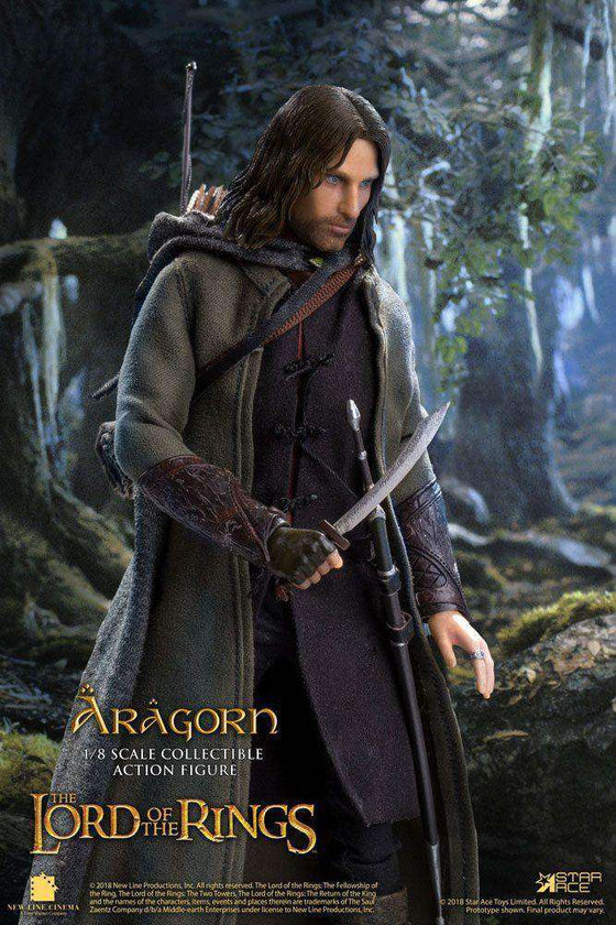 Films & Series - Lord Of The Rings Real Master Series Action Figure 1/8 Aragon Deluxe Version 23 Cm