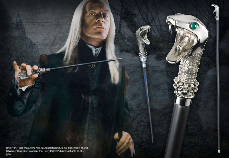 Lucius Malfoy Cane with Wand - Olleke | Disney and Harry Potter Merchandise shop