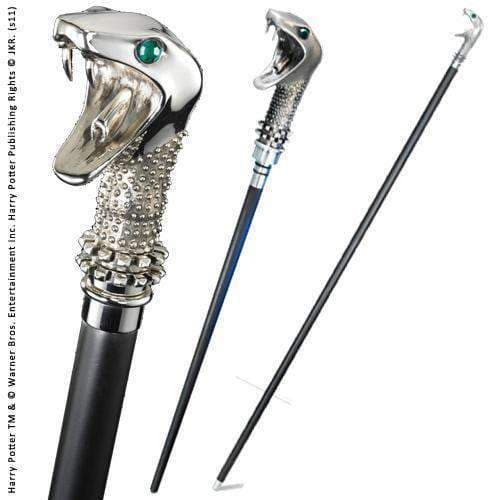 Lucius Malfoy Cane with Wand Olleke | Disney and Harry Potter Merchandise shop The Noble Collection