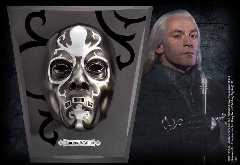 Lucius Malfoy Mask Olleke | Disney and Harry Potter Merchandise shop The Noble Collection