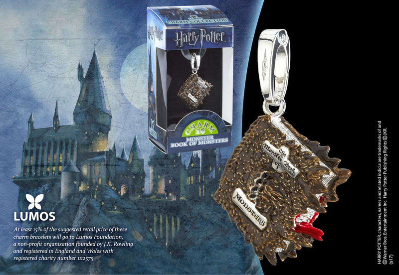 Lumos Charm 16 Monster Book of Monsters - Olleke | Disney and Harry Potter Merchandise shop