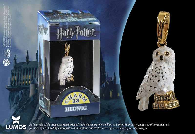 Lumos Charm 18 Hedwig Olleke | Disney and Harry Potter Merchandise shop The Noble Collection