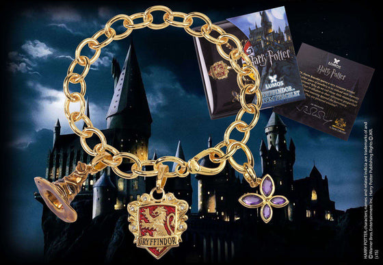 Lumos Gryffindor Charm Bracelet Olleke | Disney and Harry Potter Merchandise shop The Noble Collection