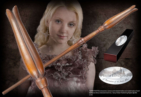 Luna Lovegood Character Wand Olleke | Disney and Harry Potter Merchandise shop The Noble Collection