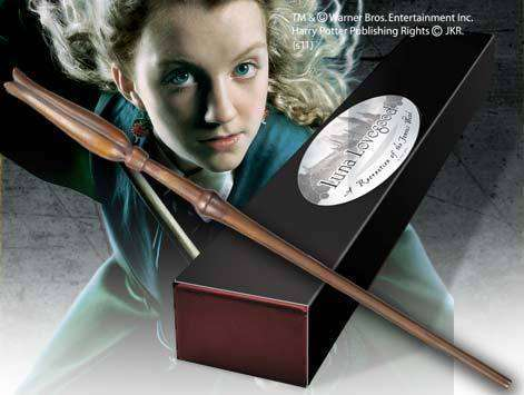 Luna Lovegood Character Wand - Olleke | Disney and Harry Potter Merchandise shop
