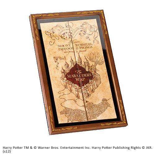 Marauder's Map Display Case Olleke | Disney and Harry Potter Merchandise shop The Noble Collection