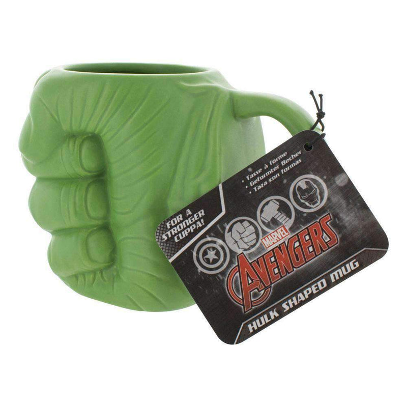 Marvel Comics Mug Shaped Hulk Fist 13 cm - Olleke | Disney and Harry Potter Merchandise shop