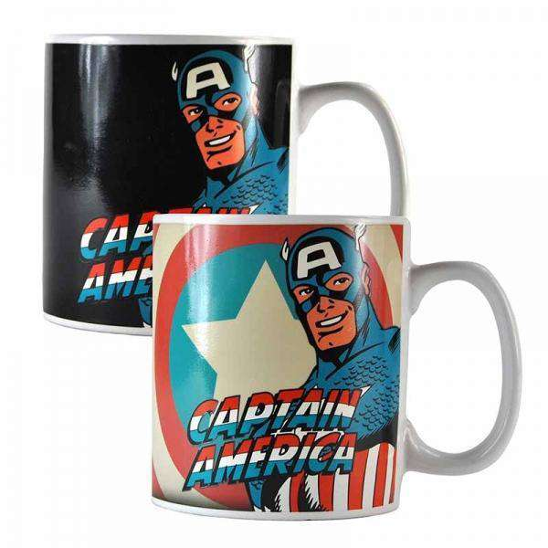 Marvel Heat Changing Mug - Captain America - Olleke | Disney and Harry Potter Merchandise shop