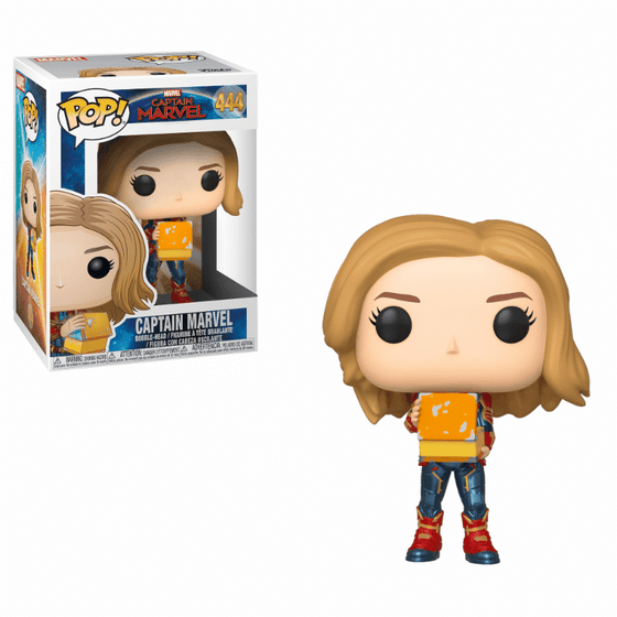 Films & Series - Marvel POP! Captain Marvel - Captain Marvel With Lunch Box