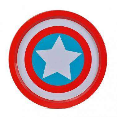 Marvel Tin Tray - Captain America - Olleke | Disney and Harry Potter Merchandise shop