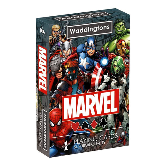 Films & Series - Marvel Universe Playing Cards