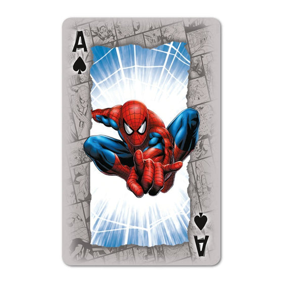 Marvel Universe Playing Cards Olleke | Disney and Harry Potter Merchandise shop Winning Moves