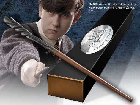Neville Longbottom Character Wand Olleke | Disney and Harry Potter Merchandise shop The Noble Collection