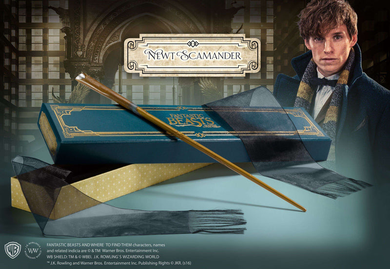 Newt Scamander's Wand in Collector's Box - Olleke | Disney and Harry Potter Merchandise shop