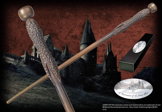 Nigel Character Wand Olleke | Disney and Harry Potter Merchandise shop The Noble Collection