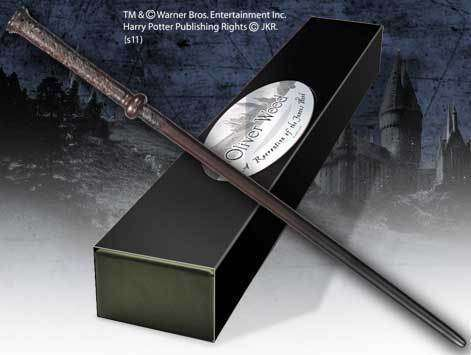 Oliver Wood Character Wand - Olleke | Disney and Harry Potter Merchandise shop