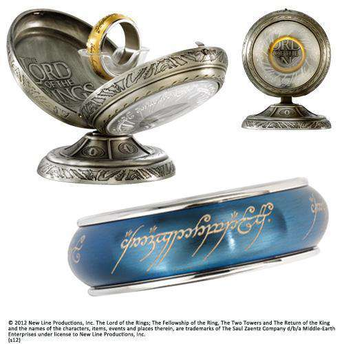 One Ring Spinning Stainless Steel - Blue - Olleke | Disney and Harry Potter Merchandise shop