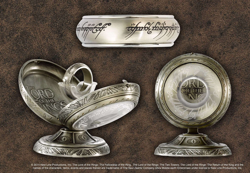One Ring Spinning Stainless Steel - Steel - Olleke | Disney and Harry Potter Merchandise shop