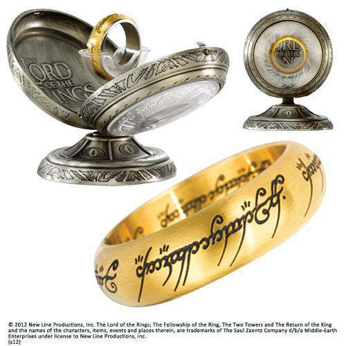 One Ring Stainless Steel - Gold - Olleke | Disney and Harry Potter Merchandise shop